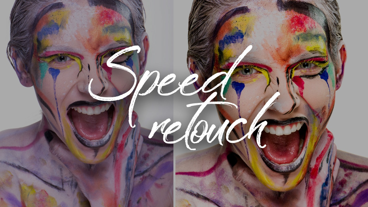 Photoshop: Speed retouch beauty #03/2018