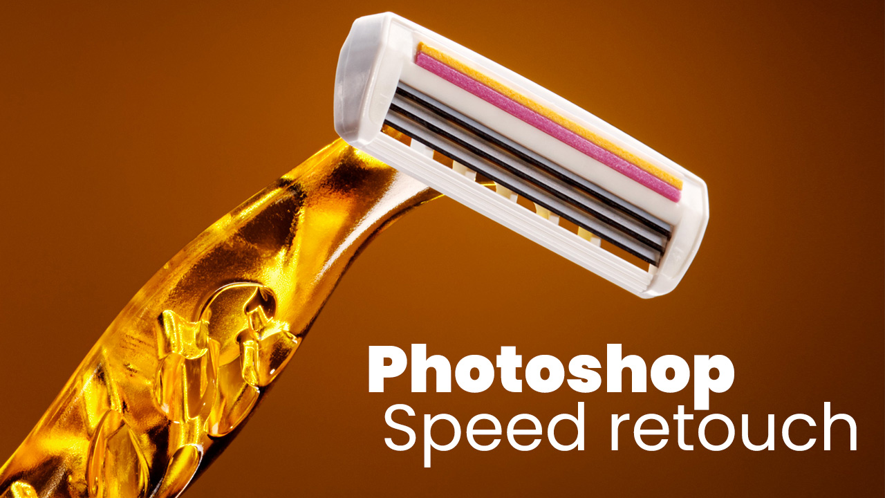 Photoshop: Speed retouch product #04/2019